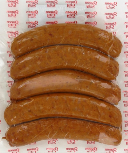 Queen City Hot Smoked Sausage Perspective: back