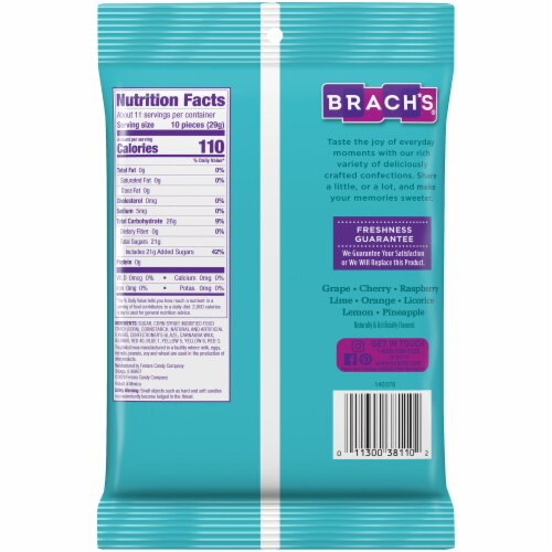 Brach's® Classic Jelly Beans Perspective: back