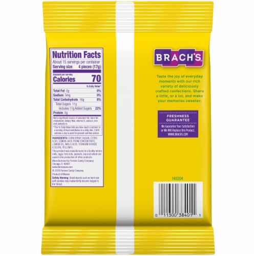 Brach's Lemon Drops Candy Perspective: back