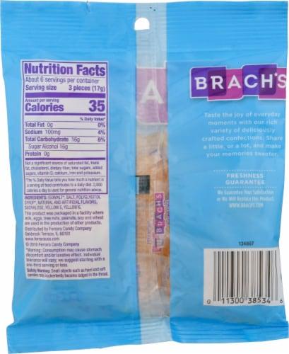 Brach's® Sugar Free Butterscotch Hard Candy Perspective: back