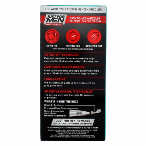 Just For Men AutoStop Comb-In A-15 Dark Blonde Hair Color Perspective: back