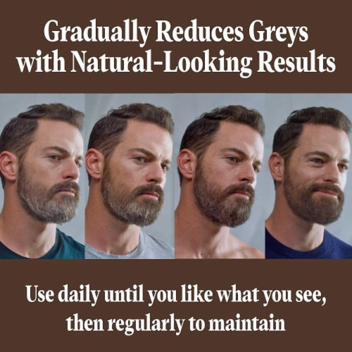 Just For Men Control GX Grey Reducing Beard Wash Perspective: back