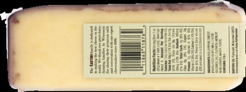 Sartori BellaVitano Merlot Cheese Perspective: back