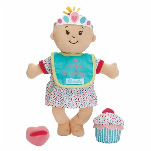 """Manhattan Toy Wee Baby Stella Sweet Scents 12"""" Soft Baby Doll and Birthday Set Perspective: back"""