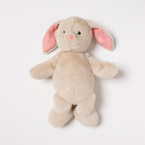 """Manhattan Toy Swaddle Baby Bunny 11"""" Plush Toy with Swaddle Blanket Perspective: back"""