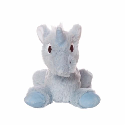 "Manhattan Toy Floppies 7"" Baby Unicorn Plush Toy Perspective: back"