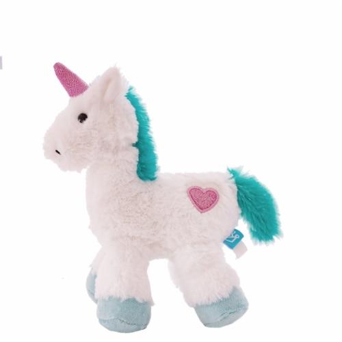 "Manhattan Toy Little Voyagers Heartfelt Unicorn 9"" Plush Toy Perspective: back"