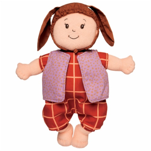 """Manhattan Toy Baby Stella Romp & Jump Baby Doll Clothes for 15"""" Soft Baby Dolls Perspective: back"""