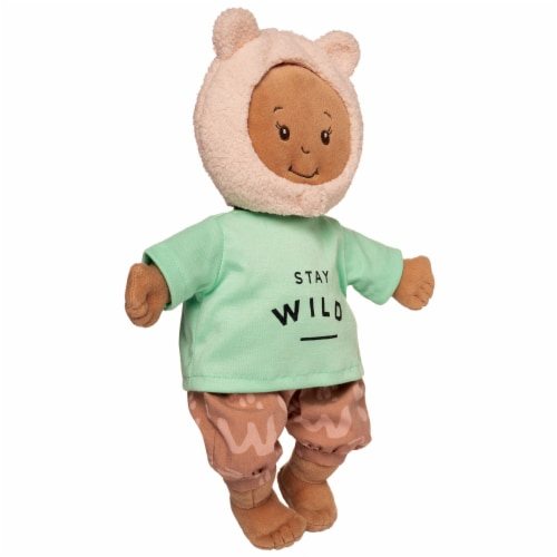 """Manhattan Toy Baby Stella Stay Wild Baby Doll Clothes for 15"""" Soft Baby Dolls Perspective: back"""
