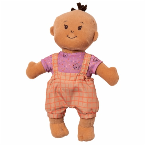 """Manhattan Toy Wee Baby Stella Take Me To the Zoo 12"""" Baby Doll Outfit Set Perspective: back"""