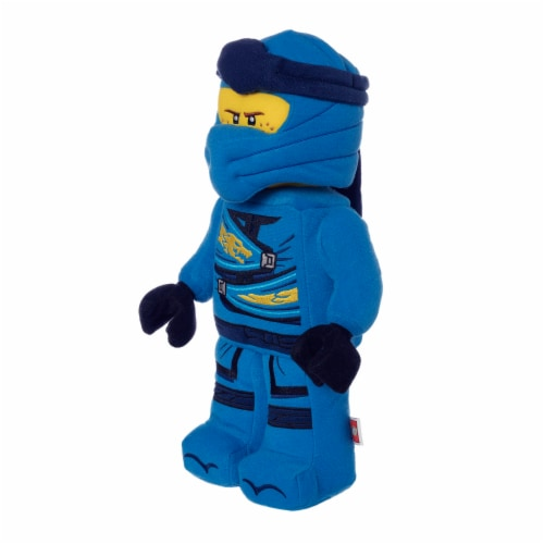 "LEGO® NINJAGO® Jay Ninja Warrior 13"" Plush Character Perspective: back"