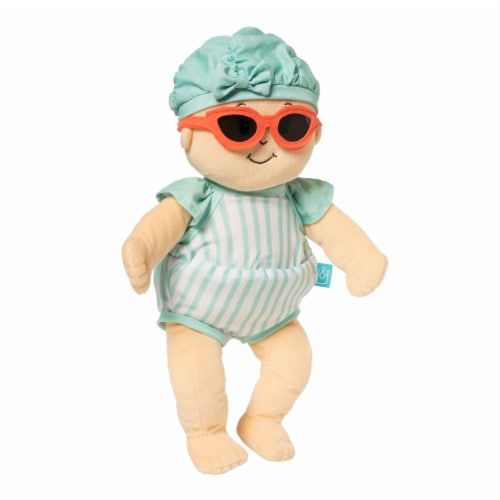 """Manhattan Toy Baby Stella Pool Party Baby Doll Clothes for 15"""" Dolls Perspective: back"""