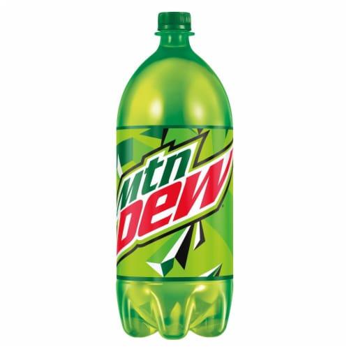 Mountain Dew Citrus Soda Perspective: back