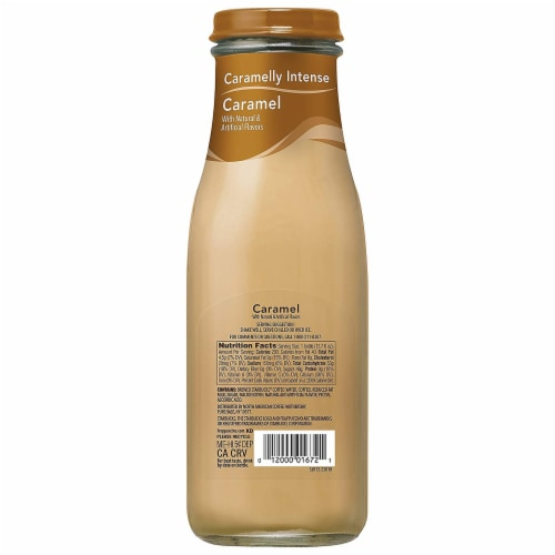 Starbucks Frappuccino Caramel Iced Coffee Drink Perspective: back