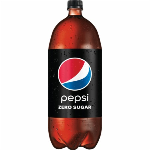 Pepsi Cola Zero Sugar Soda Perspective: back