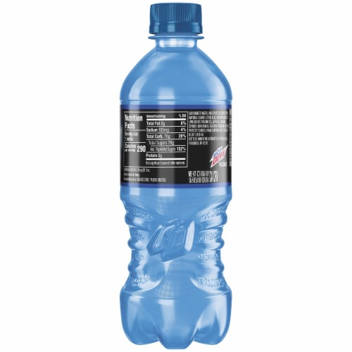 Mountain Dew Voltage Soda Perspective: back