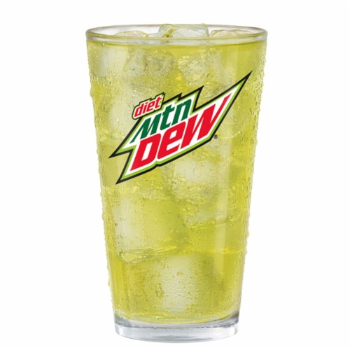 Mountain Dew® Diet Soda Perspective: back