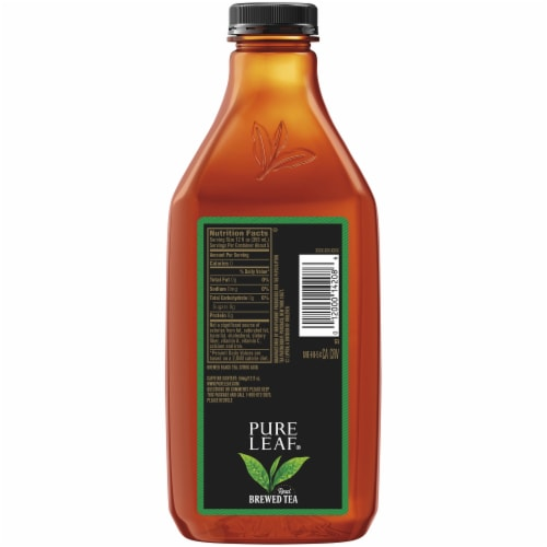 Pure Leaf Unsweetened Black Brewed Iced Tea Perspective: back