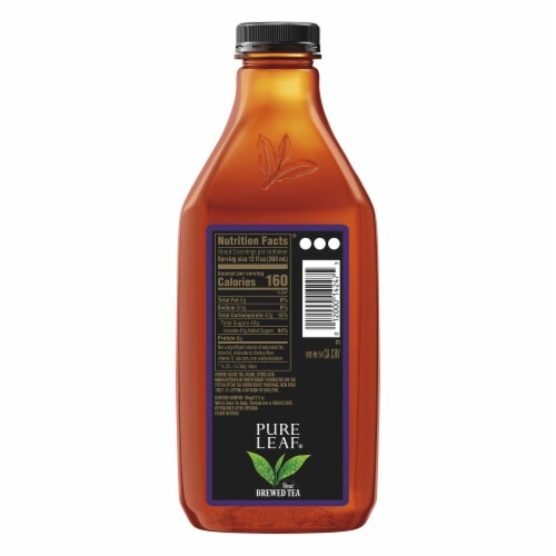 Pure Leaf Extra Sweet Tea Brewed Iced Tea Bottle Perspective: back