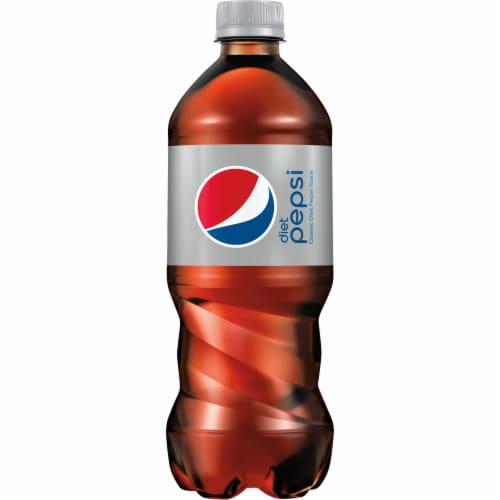 Diet Pepsi Cola Soda Perspective: back