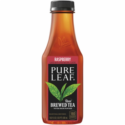 Pure Leaf Raspberry Brewed Iced Tea Perspective: back