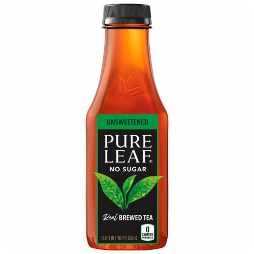 Pure Leaf Unsweetened Brewed Iced Tea Perspective: back