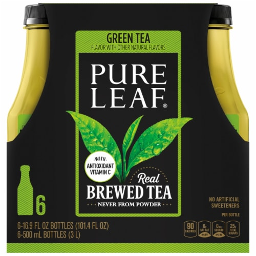 Pure Leaf® Real Brewed Green Tea Perspective: back