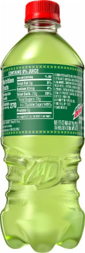 Mountain Dew Thrashed Apple Soda - Exclusive Item! Perspective: back
