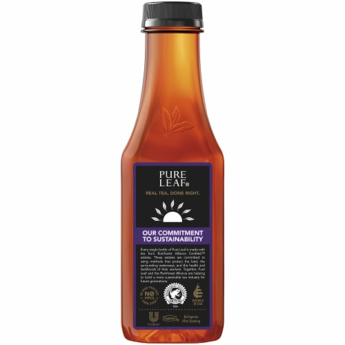 Pure Leaf Extra Sweet Brewed Iced Tea Bottle Perspective: back