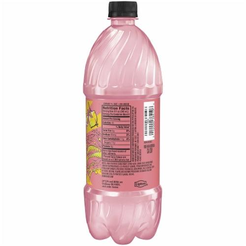 Lipton Brisk Pink Lemonade Bottle Perspective: back