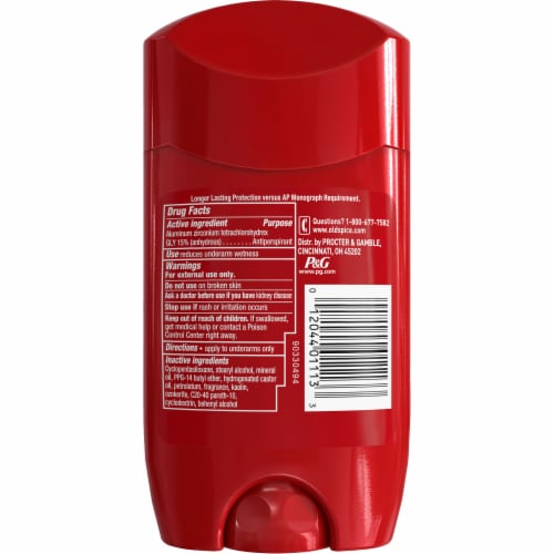 Old Spice Red Zone Collection Swagger Anti-Perspirant & Deodorant Stick Perspective: back