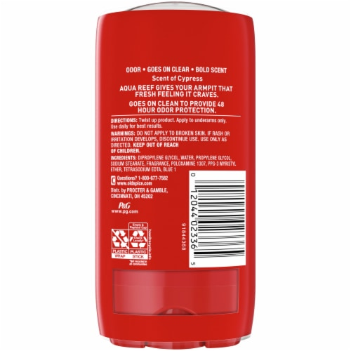 Old Spice Red Zone Collection Aqua Reef Deodorant Twin Pack Perspective: back