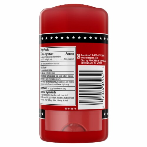 Old Spice Red Collection Swagger Anti-Perspirant & Deodorant 2 Count Perspective: back