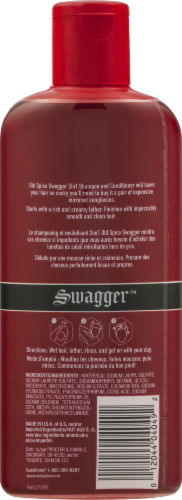 Old Spice Swagger 2in1 Shampoo and Conditioner for Men Perspective: back