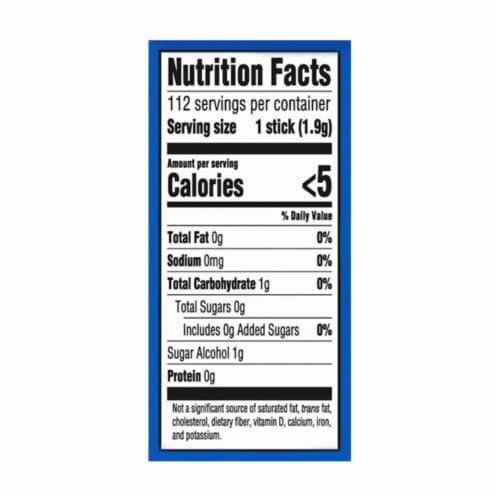 Trident Sugar Free Original Gum 112 Count Perspective: back