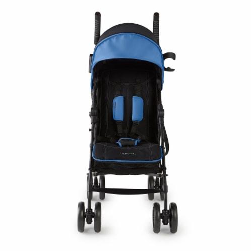 Summer Infant 3Dlite+ Convenience One-Hand Adjustable Stroller Blue/Black Perspective: back