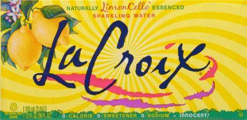 LaCroix Limoncello Sparkling Water Perspective: back
