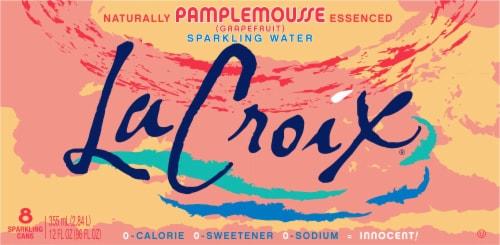 LaCroix® Pamplemousse Grapefruit Sparkling Water Perspective: back