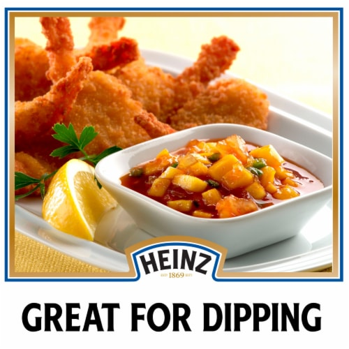 Heinz Original Cocktail Sauce Perspective: back