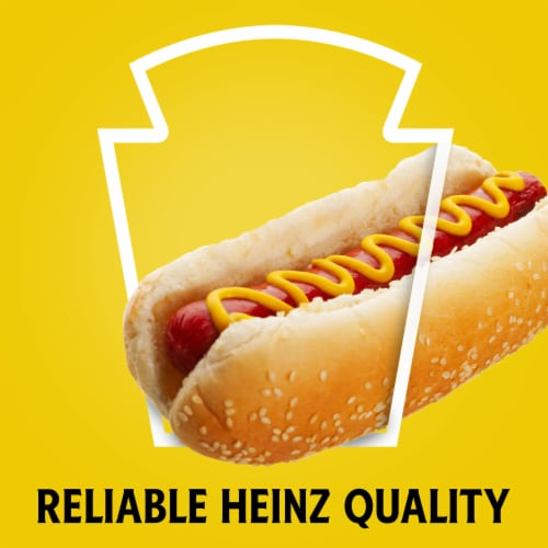 Heinz Yellow Mustard Perspective: back