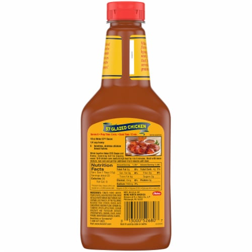 Heinz 57 Sauce Perspective: back