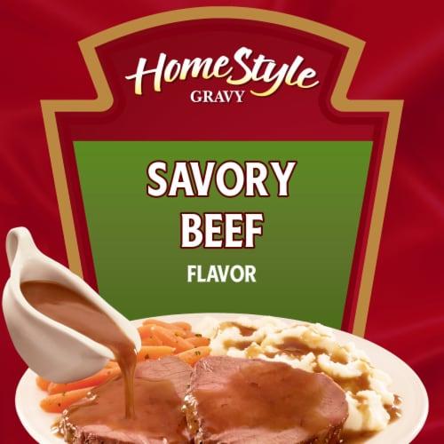 Heinz Homestyle Savory Beef Gravy Perspective: back
