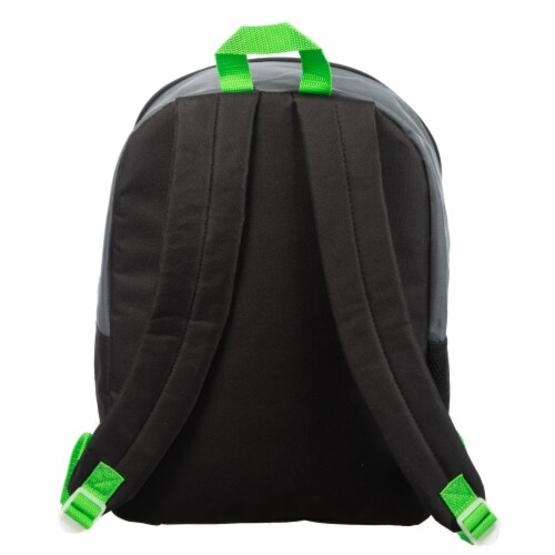 Bioworld Minecraft Backpack Set Perspective: back