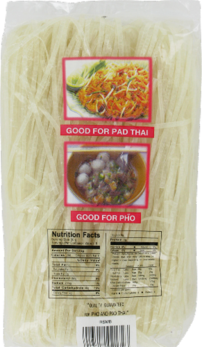 Butterfly Brand Pad Thai Noodle Perspective: back