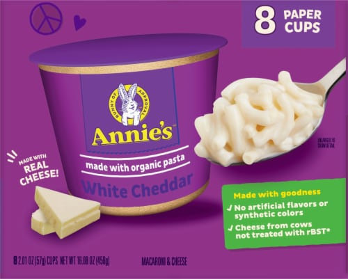 Annie's™ White Cheddar Macaroni & Cheese Perspective: back