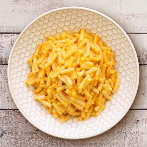 Annie's Organic Cheddar Flavor Vegan Mac Pasta & Sauce Perspective: back