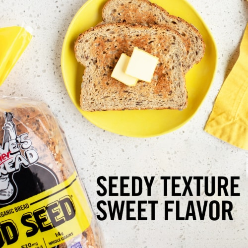 Dave's Killer Bread® Organic Good Seed Bread Perspective: back