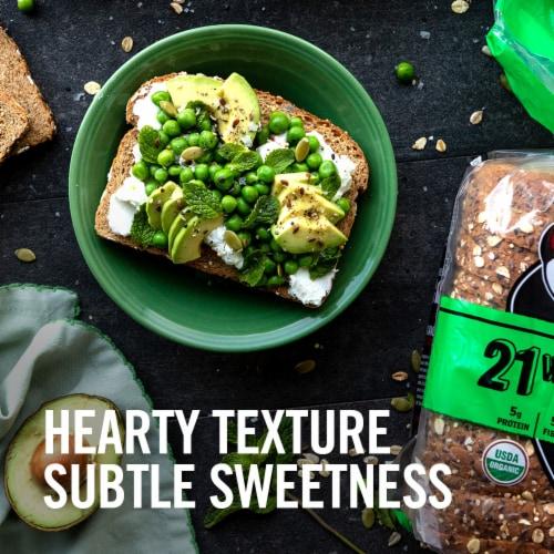 Dave's Killer Bread® Organic 21 Whole Grain Bread Perspective: back