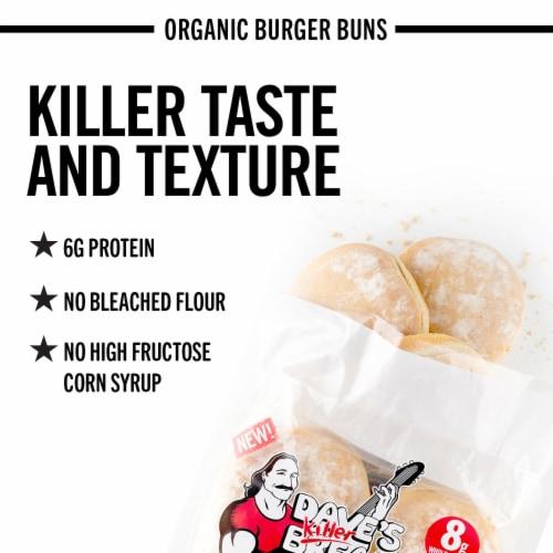 Dave's Killer Bread® Burger Buns Done Right Organic Burger Buns Perspective: back