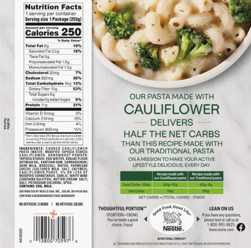 Lean Cuisine® Cauli'Bowls™ Garlic Parmesan Alfredo with Broccoli Cauliflower Pasta Frozen Meal Perspective: back